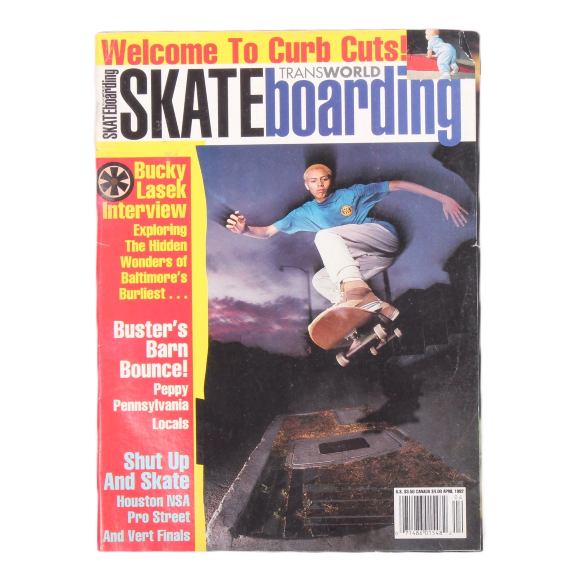 Overripe Transworld Skateboarding Magazine TWS April 1992