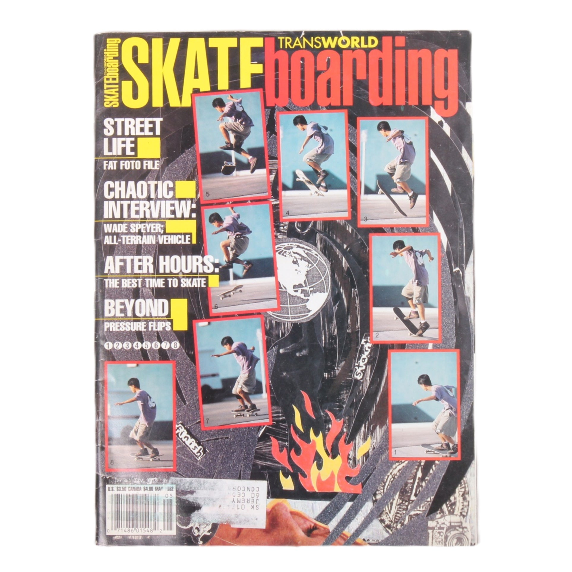 Overripe Transworld Skateboarding Magazine TWS May 1992