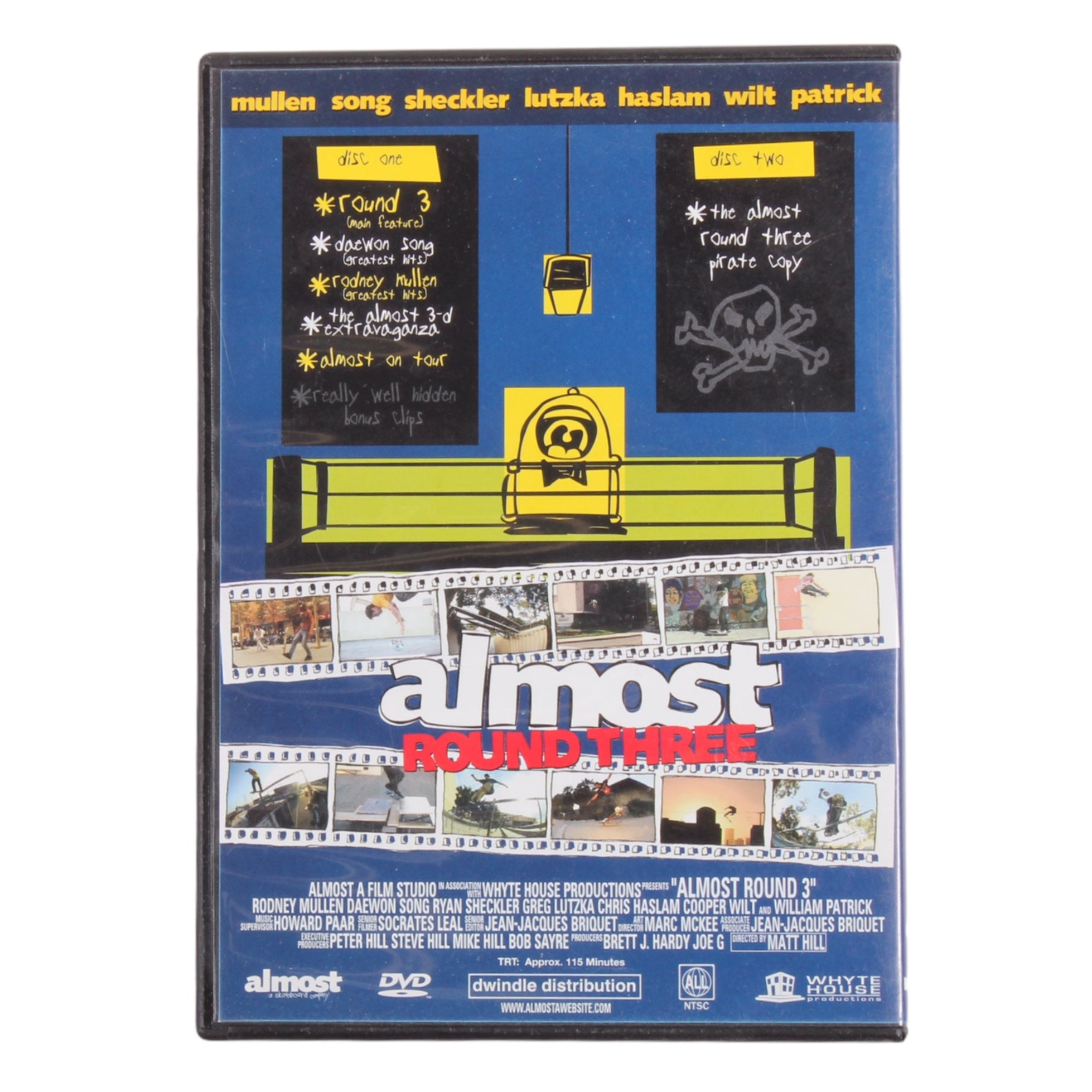 Almost Round 3 DVD (2004)