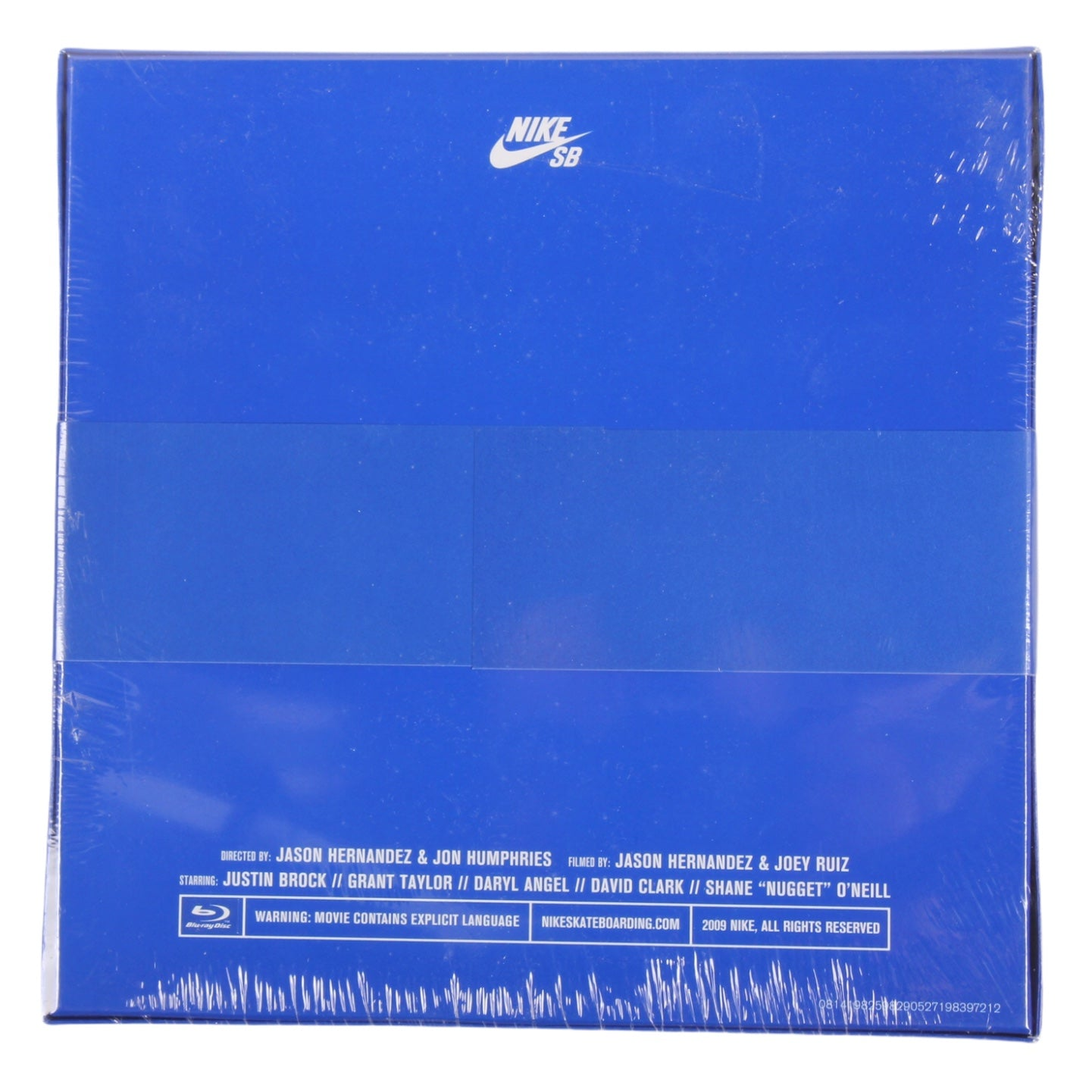 Nike SB Debacle Blu-Ray DVD Sealed (2009)