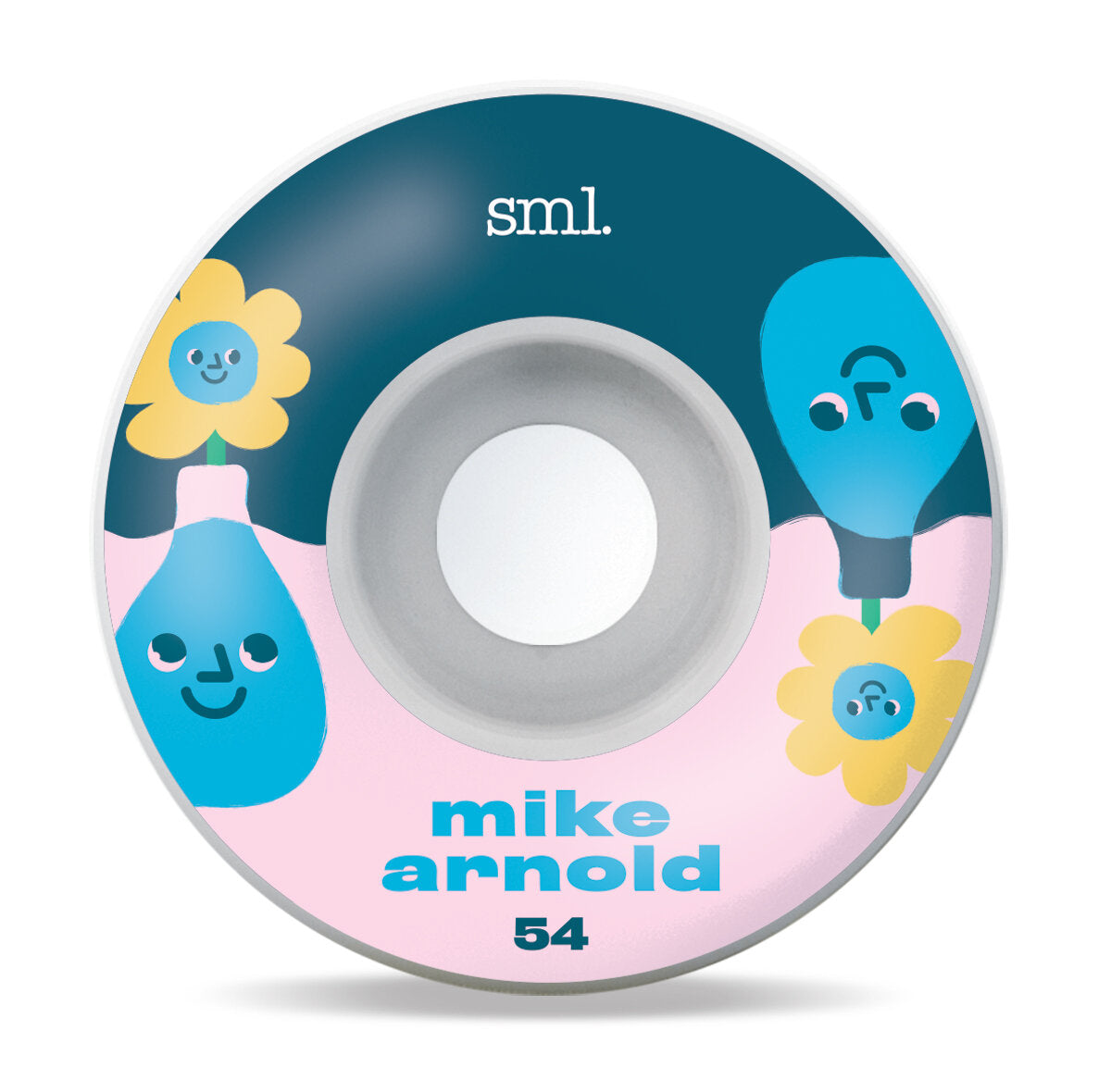 SML Wheels Toonies Series Mike Arnold V-Cut 99a 54mm