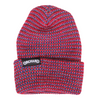 Orchard Text Label Watch Cap Red/Royal Multi