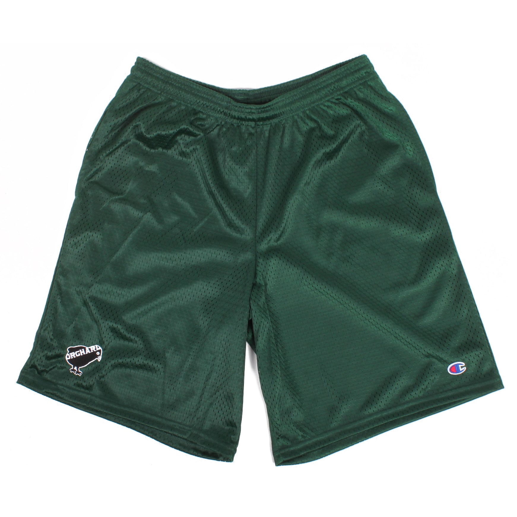 Orchard Mesh Shorts Emb. Bird Forest