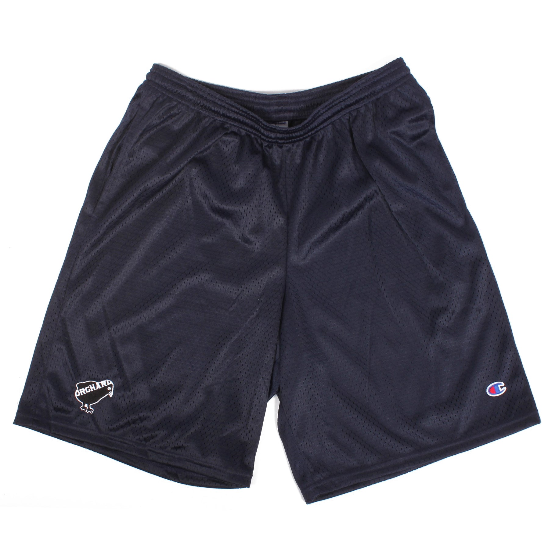 Orchard Mesh Shorts Emb. Bird Navy