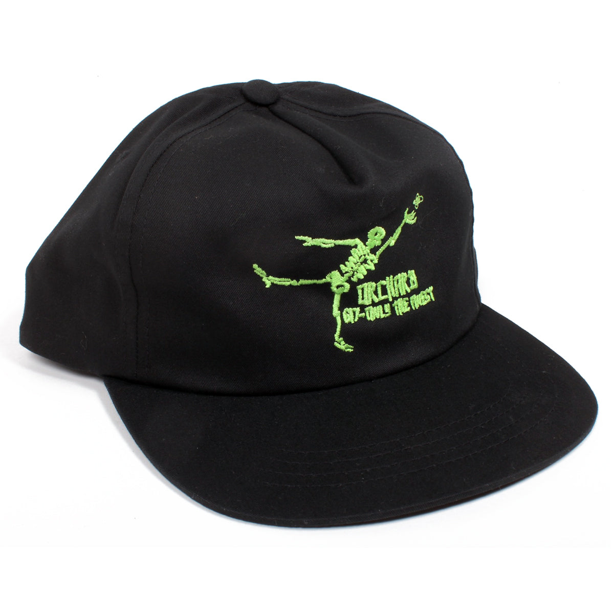 Orchard Unstructured Snapback Hat Gonz Only The Finest Black