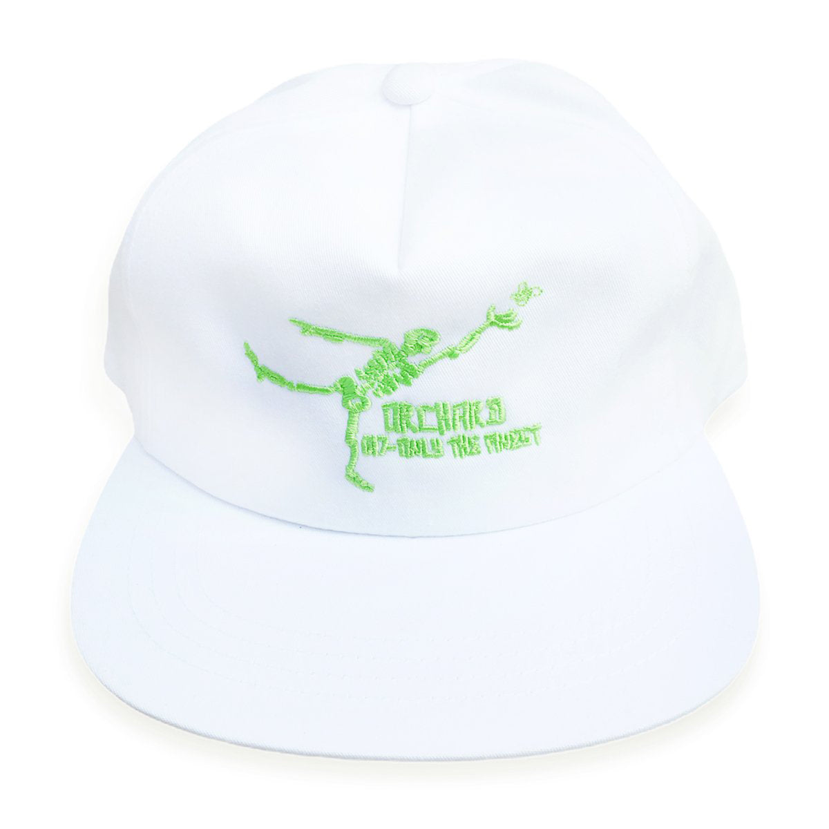 Orchard Unstructured Snapback Hat Gonz Only The Finest White