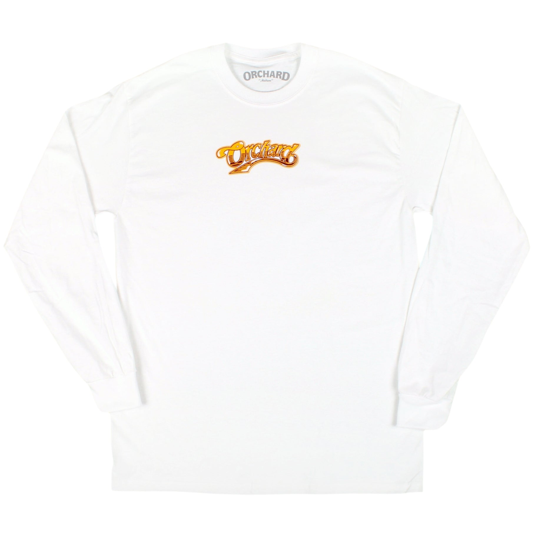 Orchard Mayday Malone Longsleeve Tee White