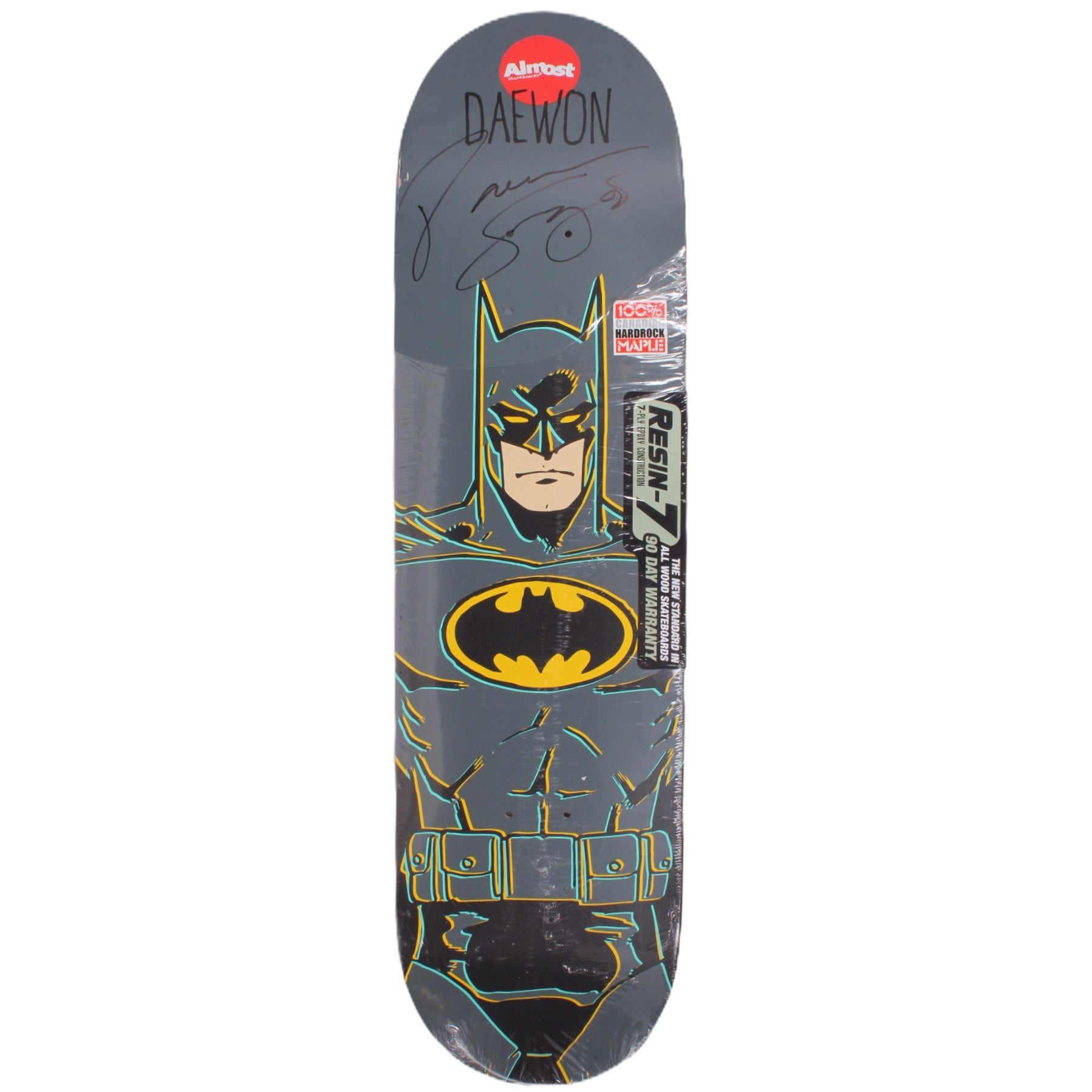 Overripe Almost Signed Deck Daewon Batman 2016
