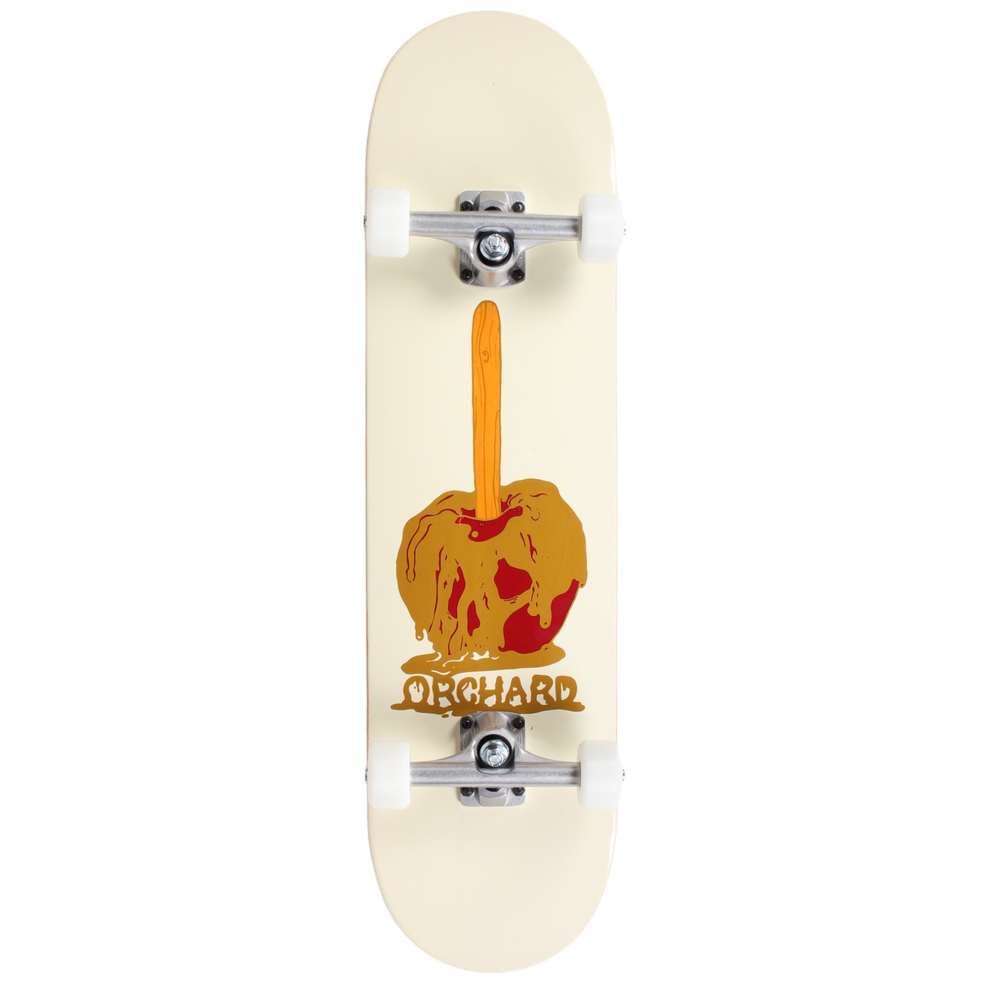 Orchard Candy Apple Hybrid Complete Skateboard 8.0 (With Free Skate Tool)