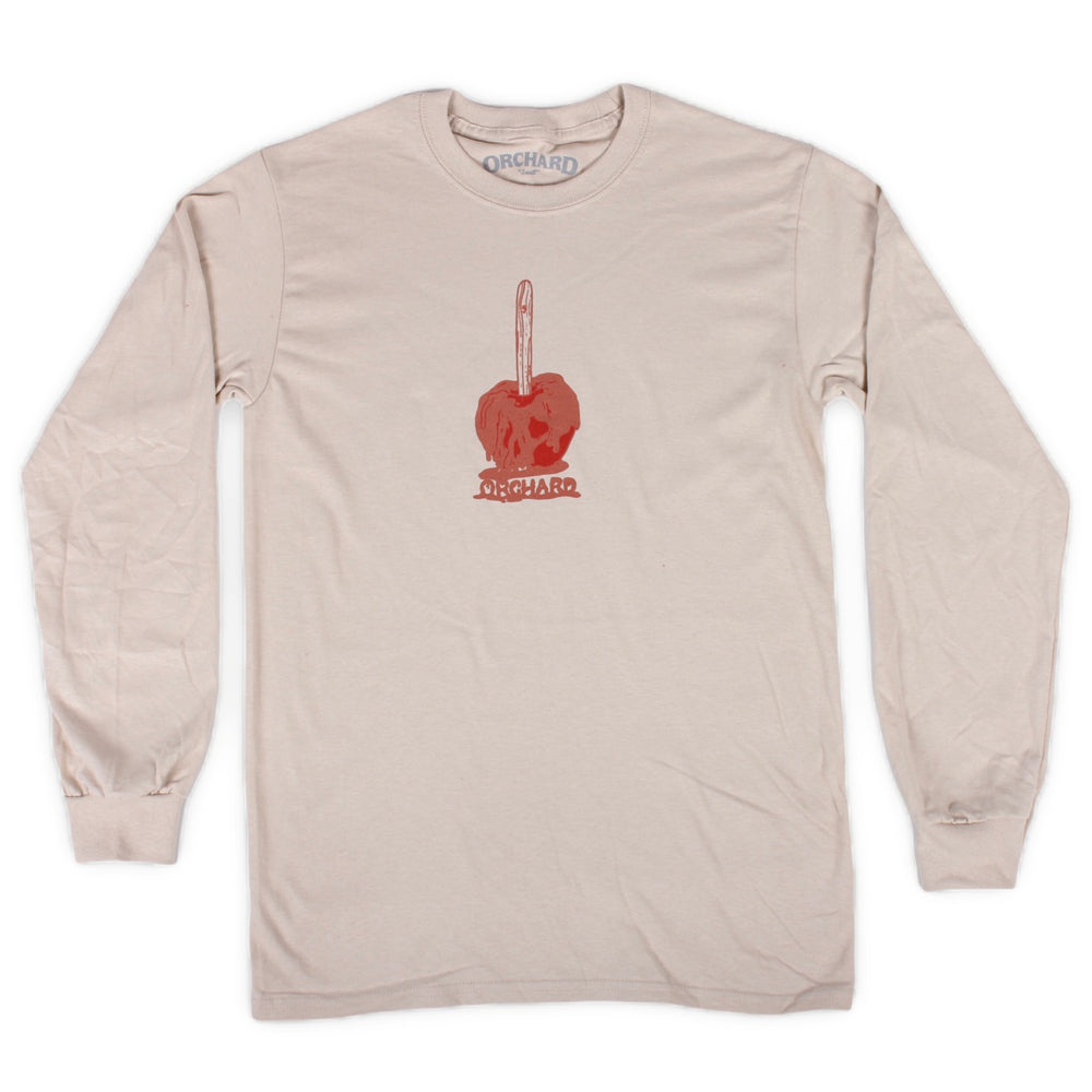 Orchard Candy Apple Long Sleeve Tee Sand