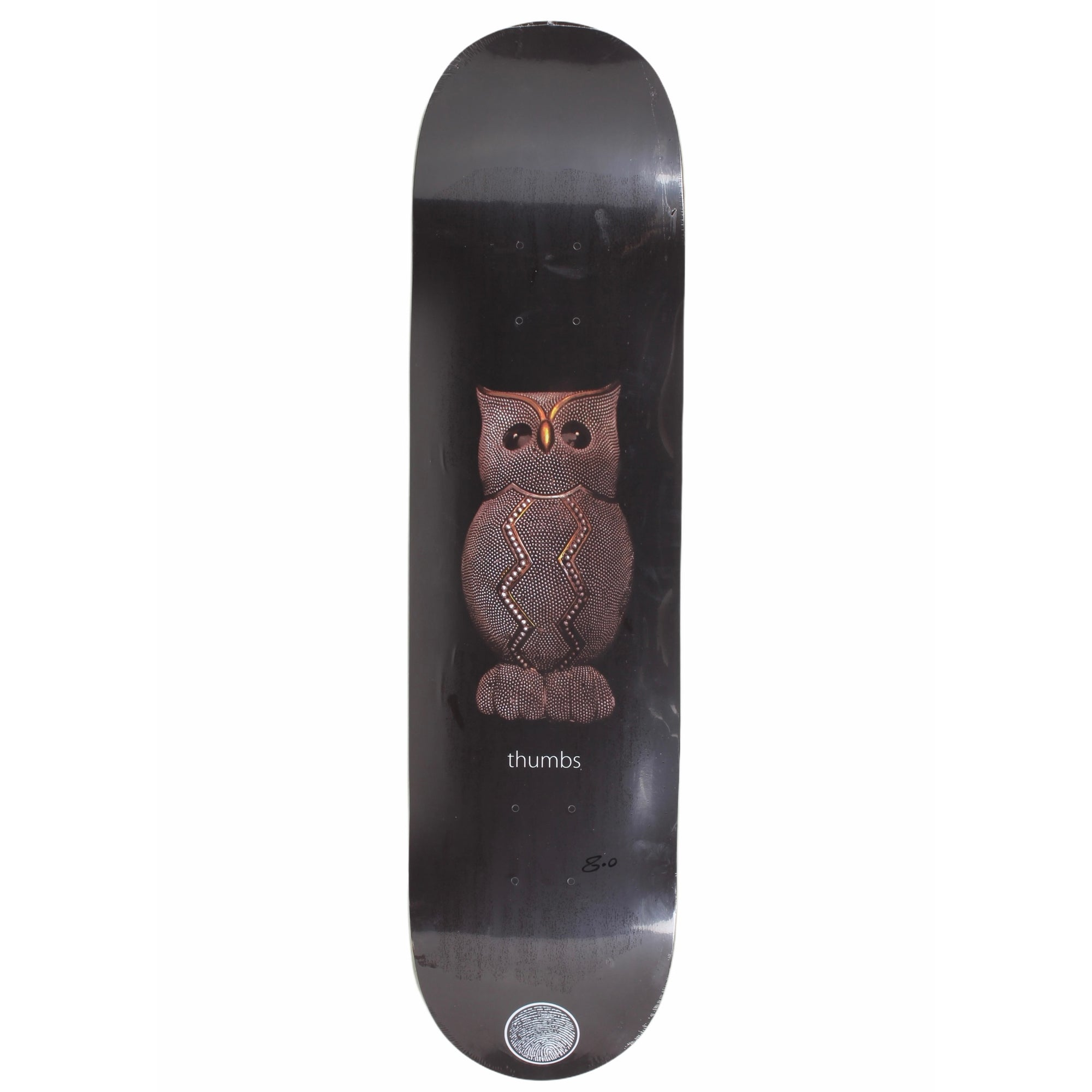 Thumbs Space Owl Deck  8.0""