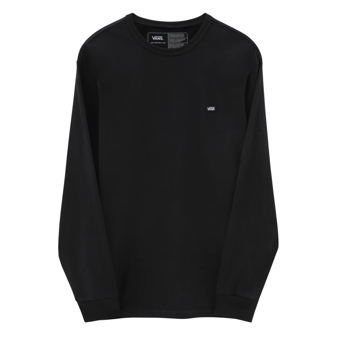 Vans Off The Wall Classic Long Sleeve Tee Black