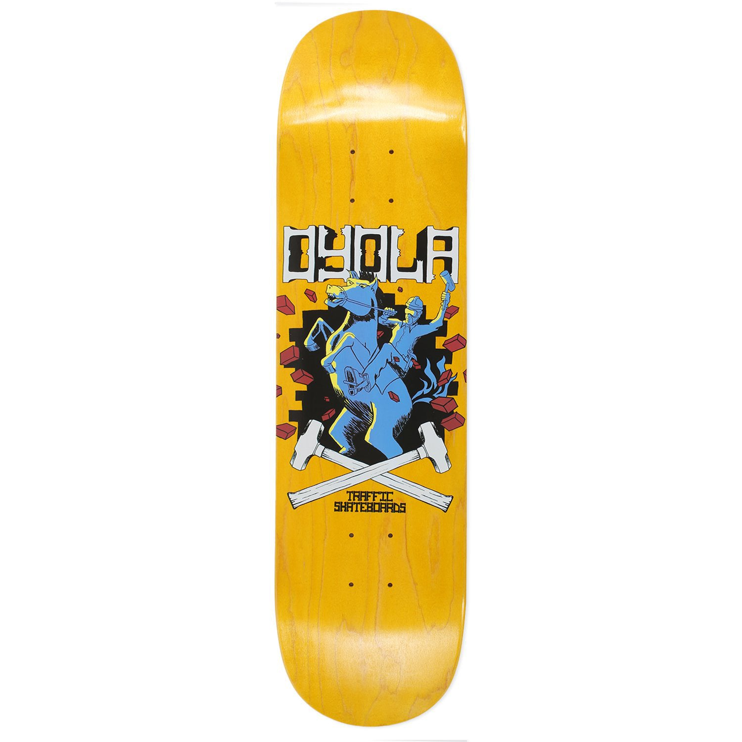 Traffic Oyola Workhorse Deck 8.38