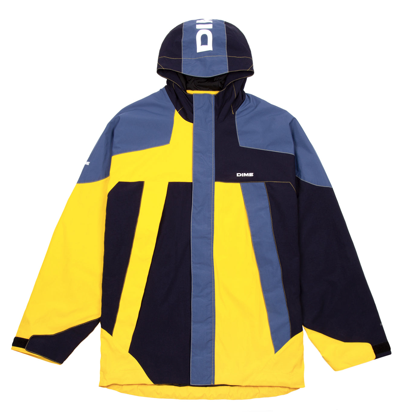 Dime Panel Parka Yellow