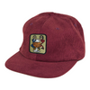 Passport With A Friend 5 Panel Hat Burgundy
