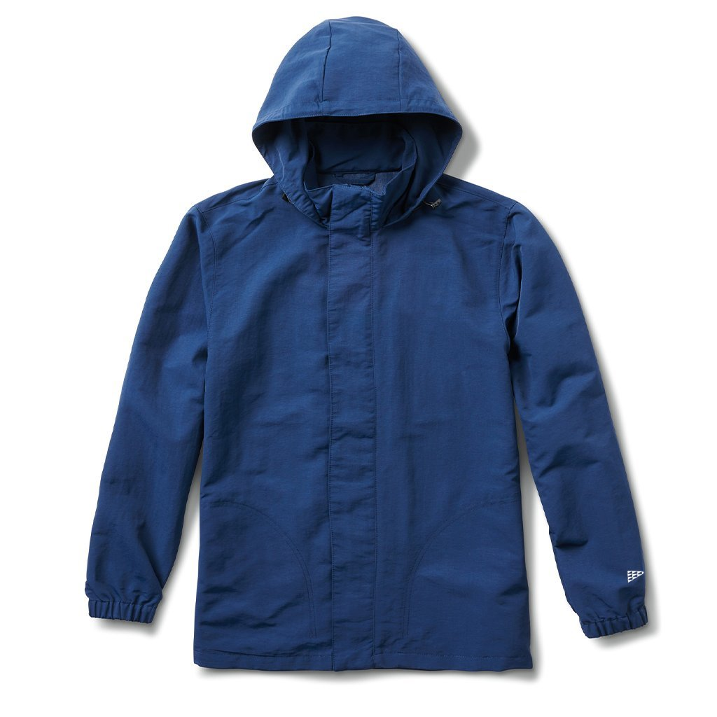 Vans X Pilgrim Hooded Jacket Dress Blues Nylon