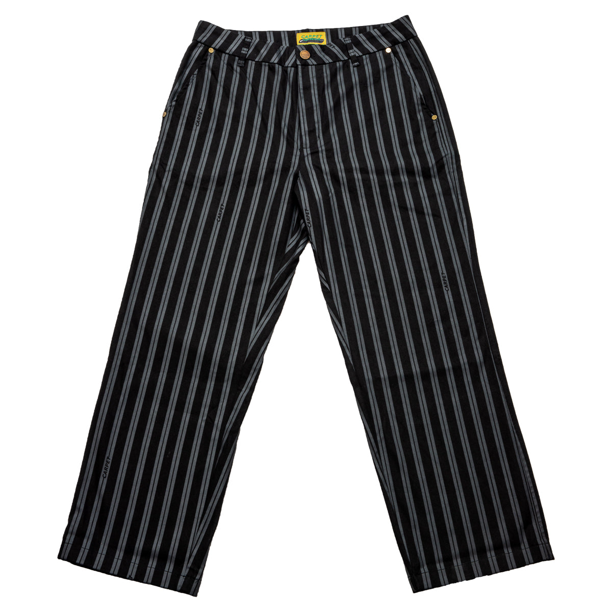 Carpet Company Baggy-ish Pinstripe Work Pants