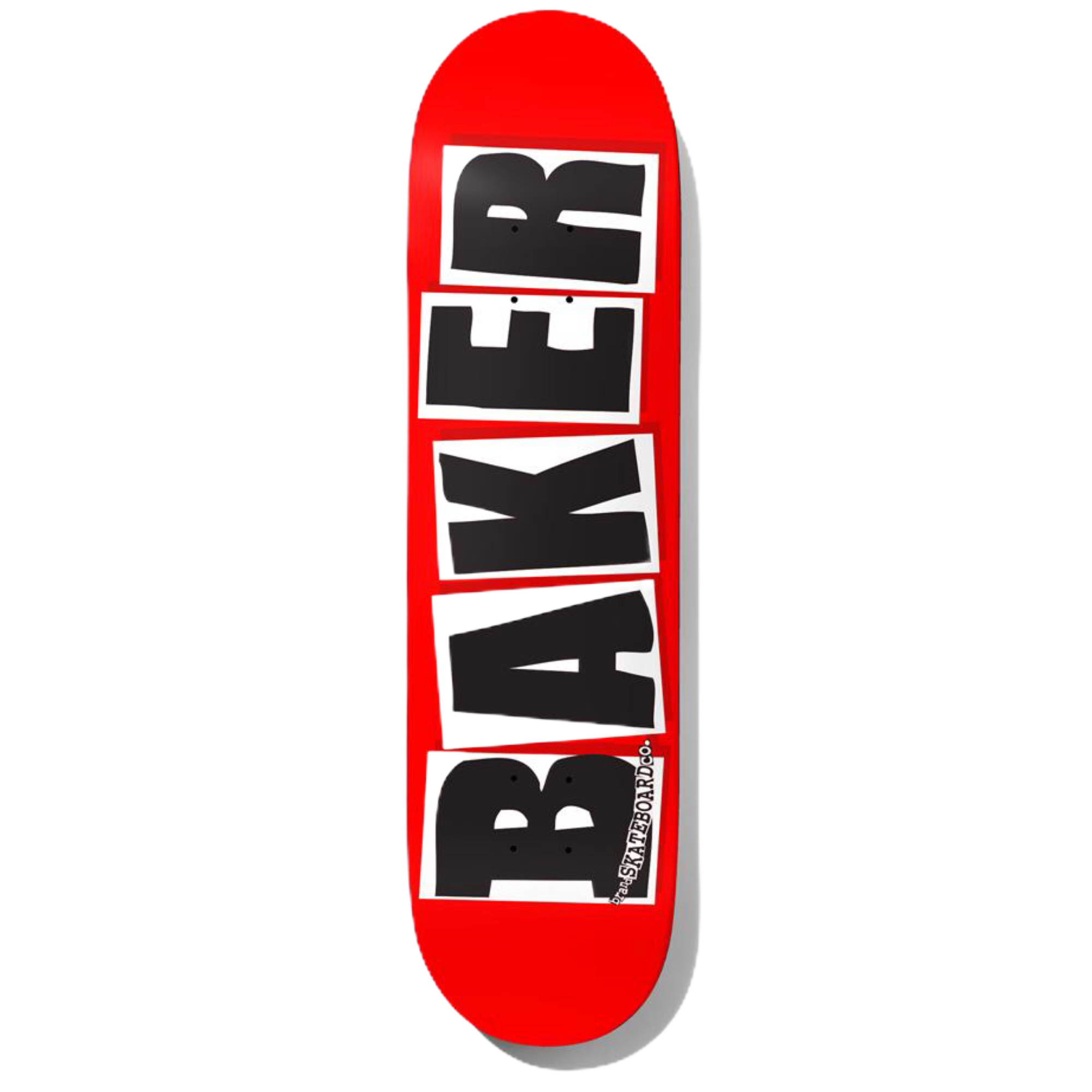 Baker Deck Brand Logo White Mini 7.3