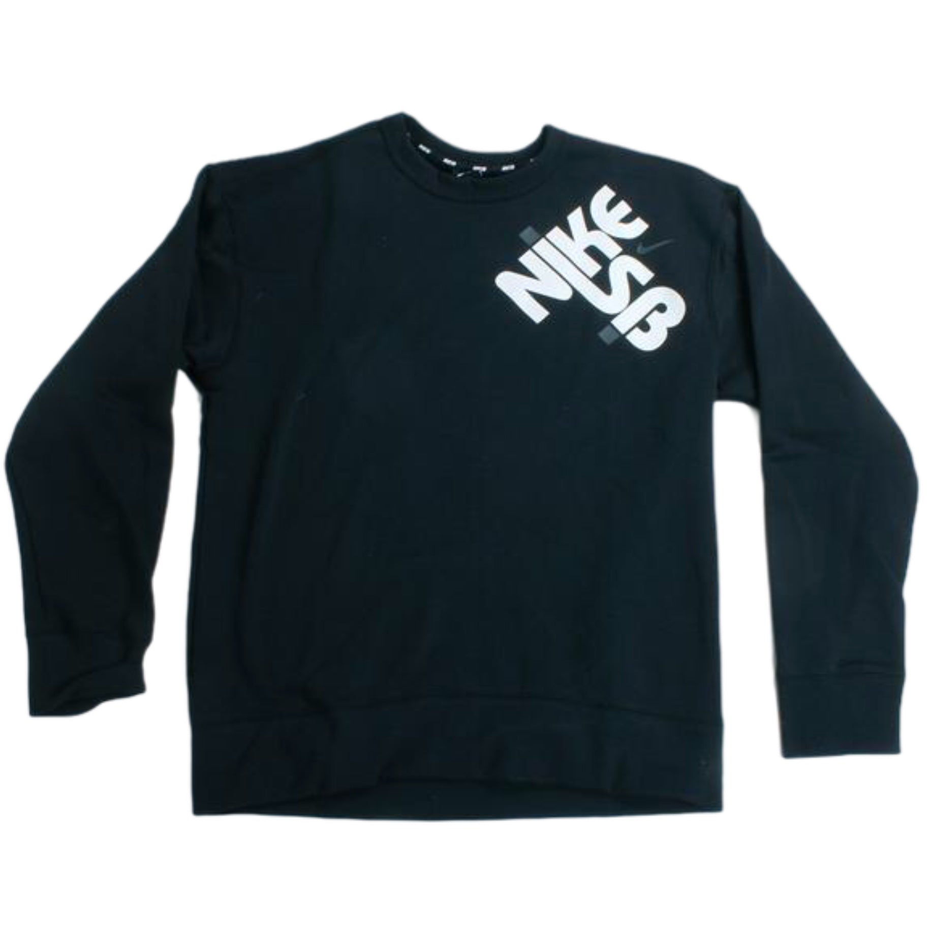 Nike SB Crewneck Sweatshirt SB Icon Drop Black