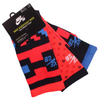 Nike SB Everyday Max Socks Orange/Blue (3 Pack)