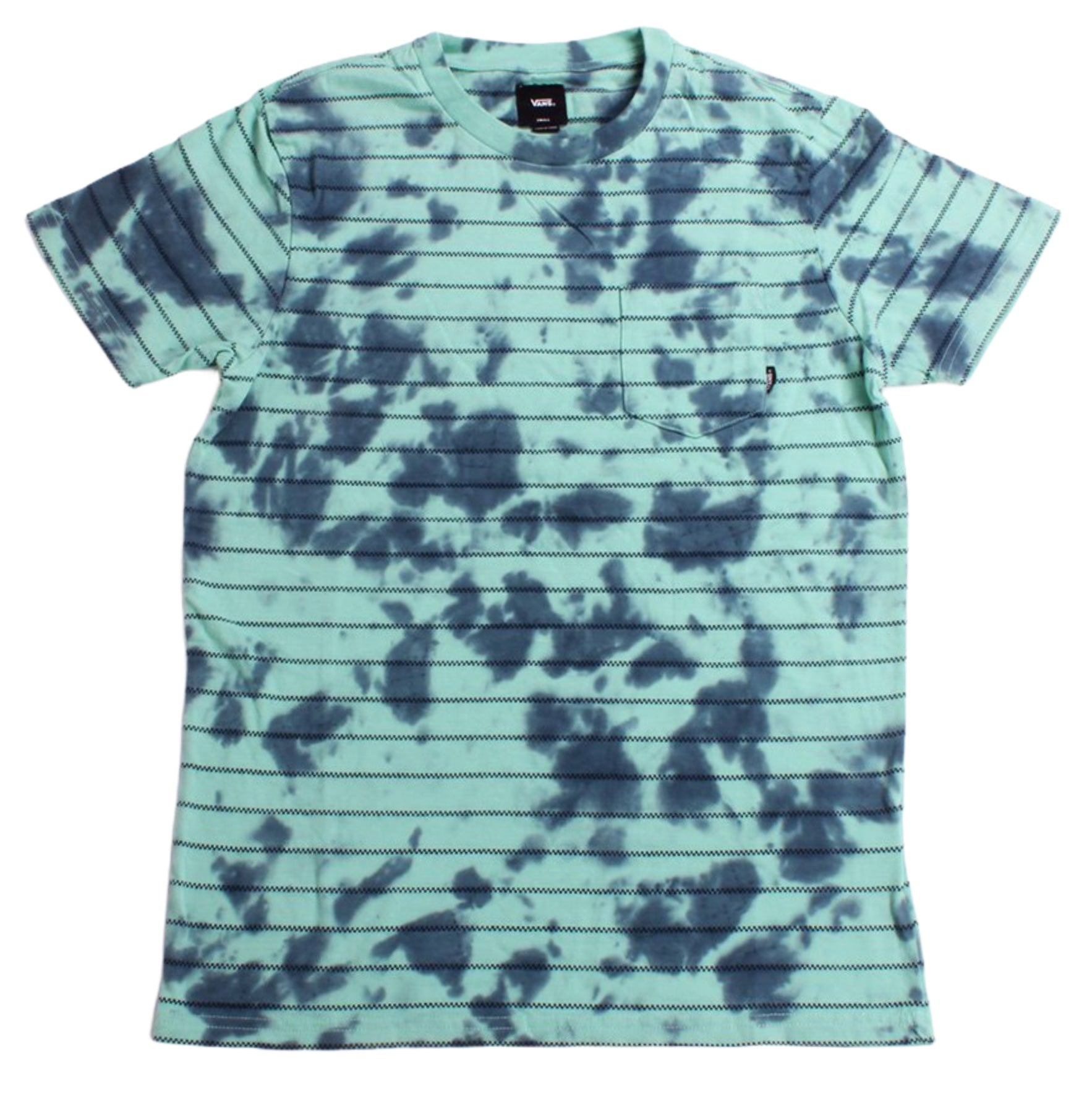 Vans Tee Checker St Dusty Jade Tie Dye