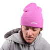 Orchard Text Logo Cuff Beanie Bubble Gum/Pearl