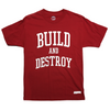 Hopps Build And Destroy Tee Red