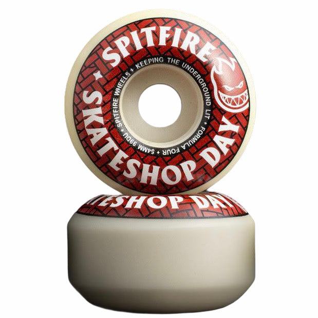 Spitfire Wheels Skateshop Day Formula Four F4 99a Classic 52mm