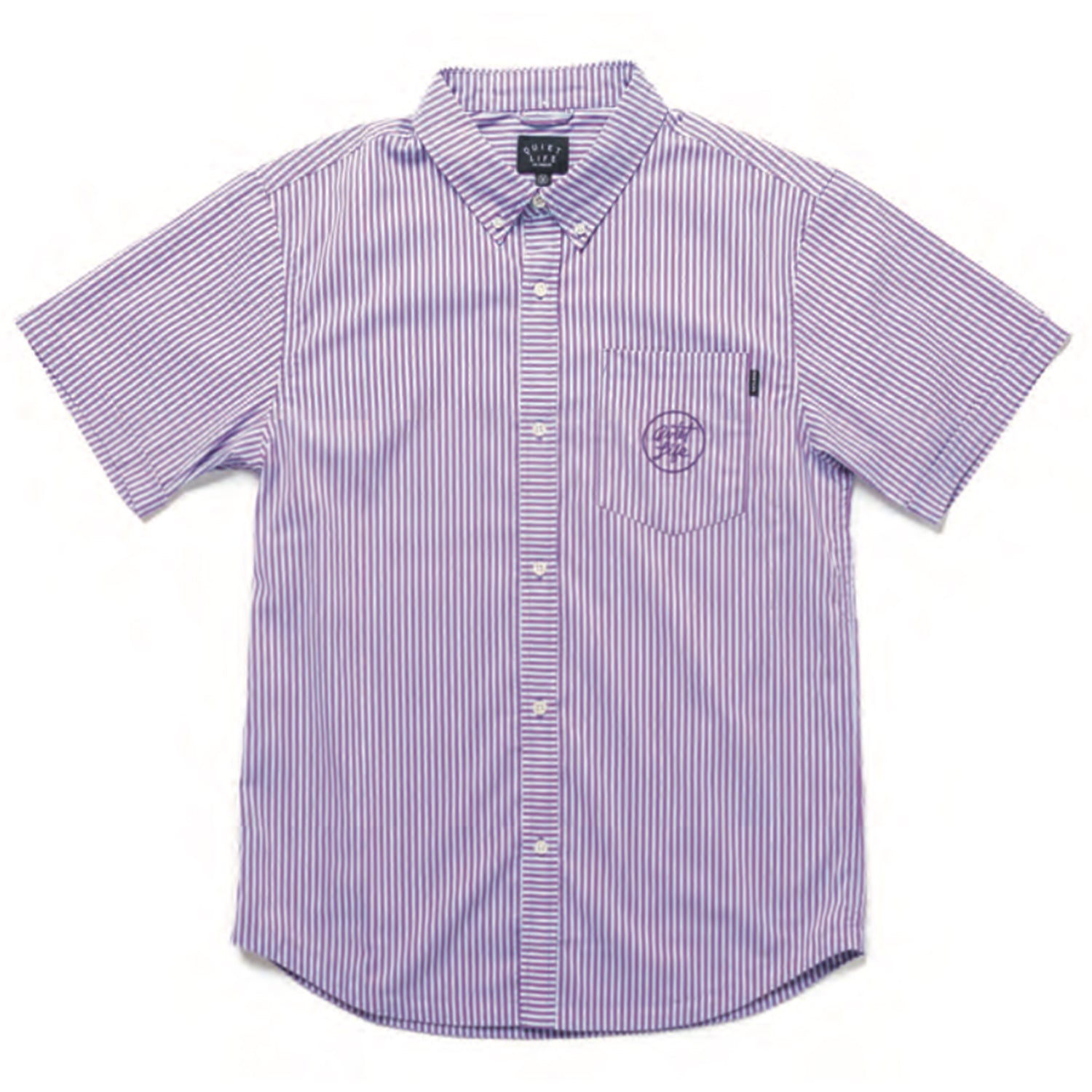 Quiet Life Timmy Button Down Shirt Blue/Purple