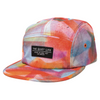 Quiet Life Farley 5 Panel Camper Hat Orange