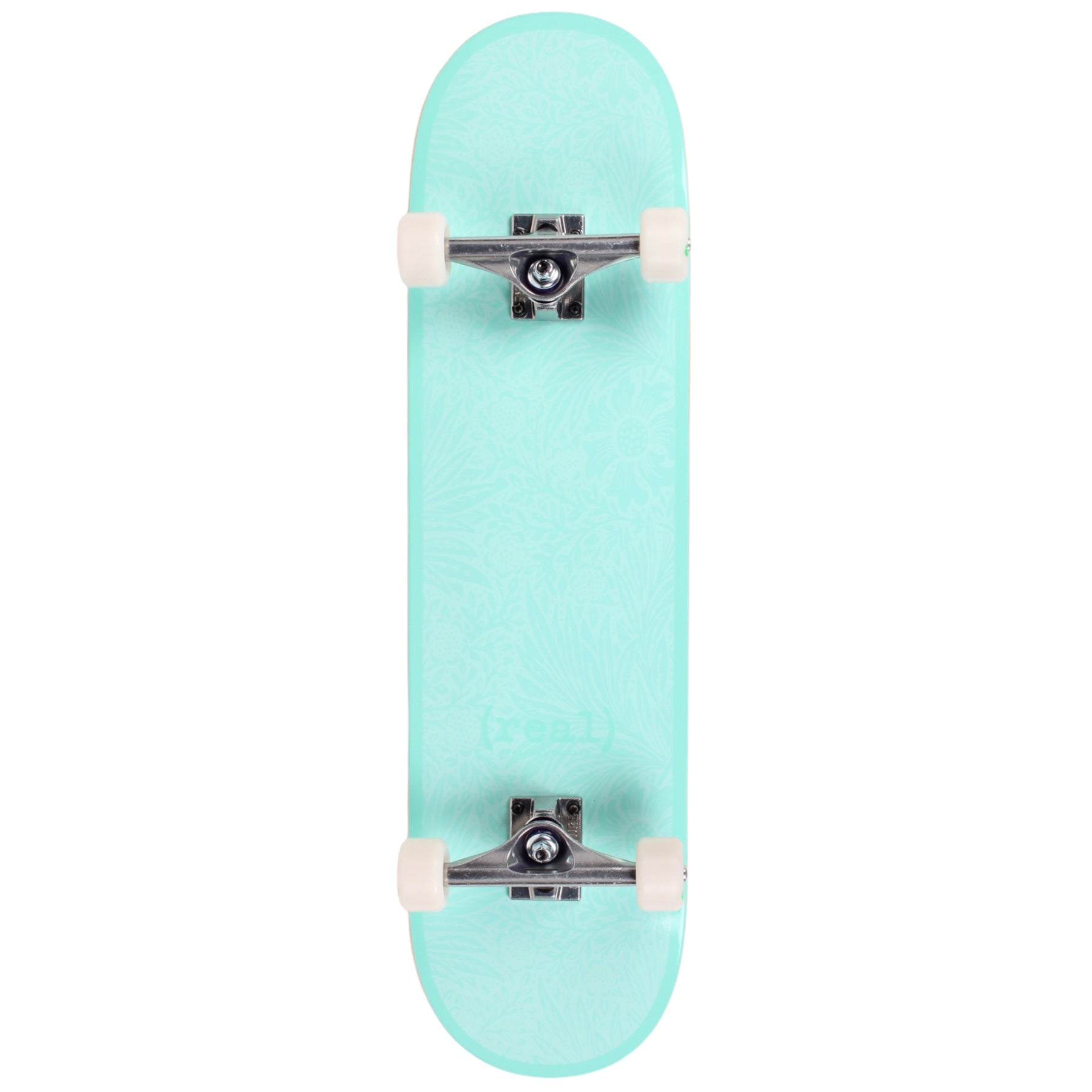 "Real Renewal Flowers Standard Skateboard Complete 8.25""  (With Free Skate Tool)"