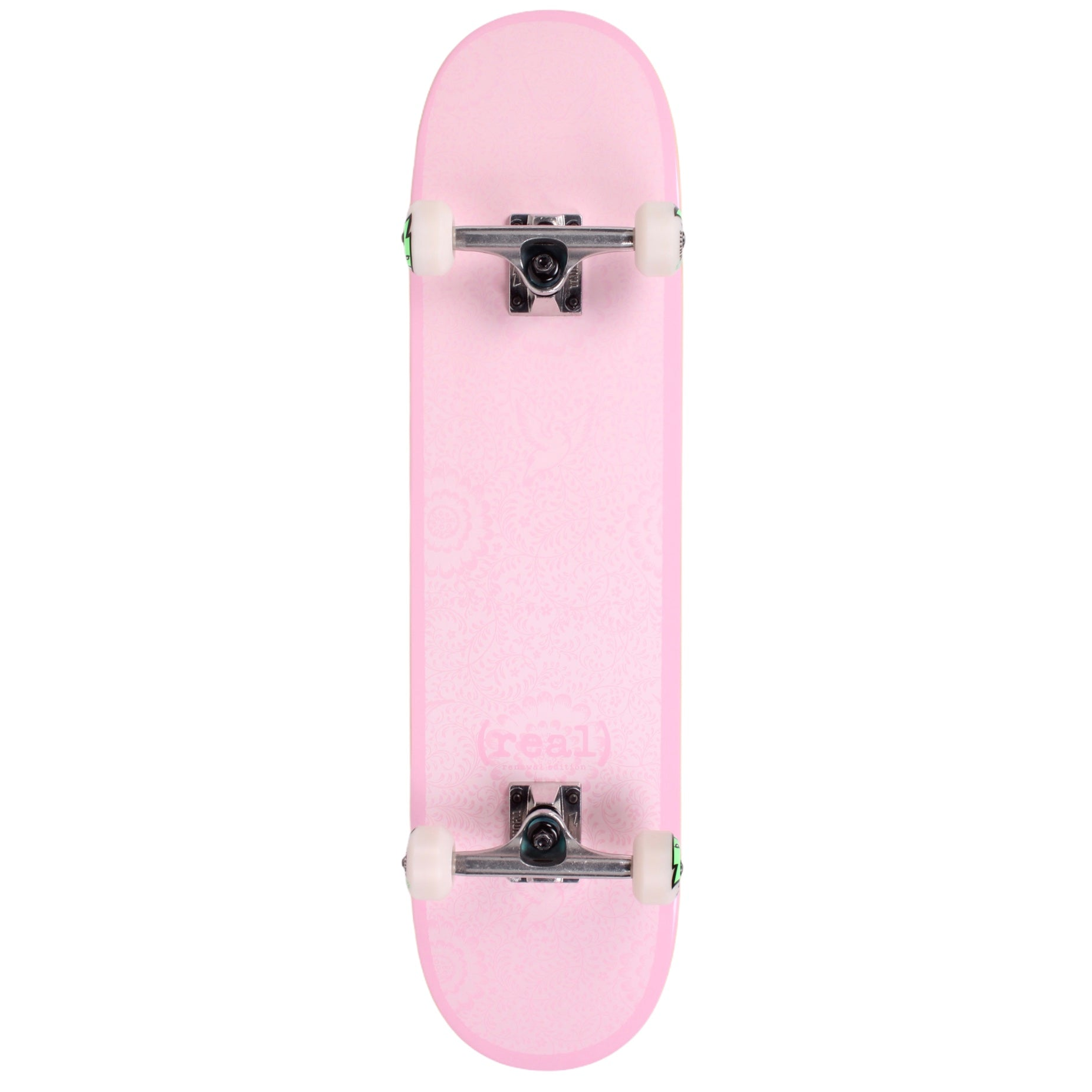 "Real Renewal Flowers Standard Skateboard Complete 8.06"" (With Free Skate Tool)"