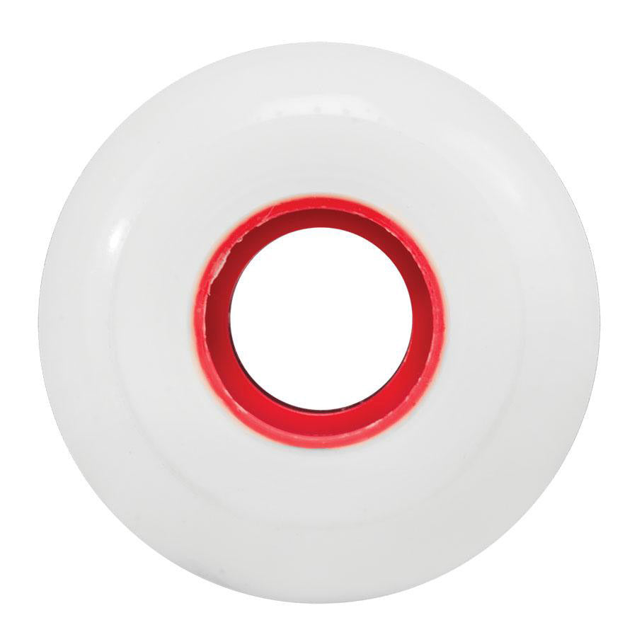 Ricta Wheels Clouds 86A White/Red Core 53mm
