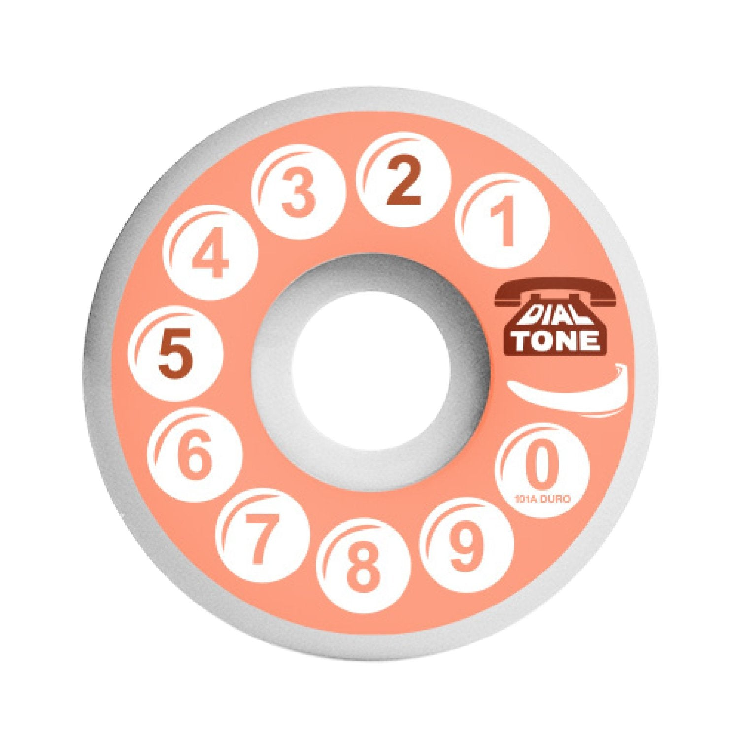 Dial Tone Wheels Rotary Standard Cut 101a 52mm