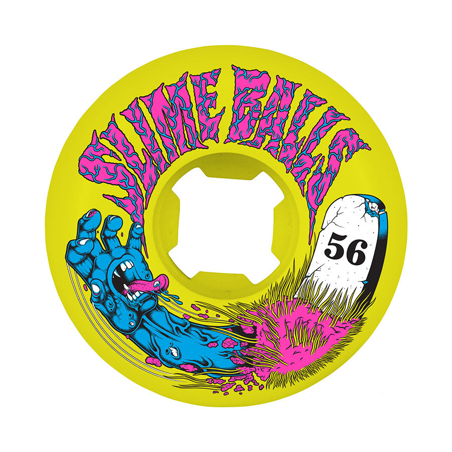 Santa Cruz Grave Hand Speed Balls 99A Slime Balls 56mm
