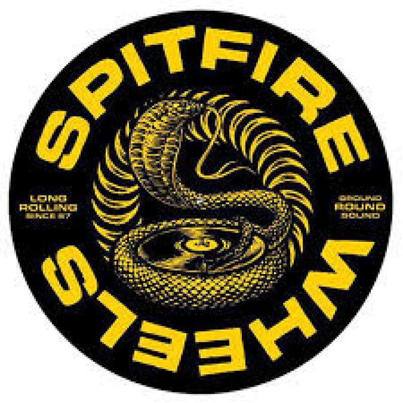 Spitfire Deep Cut Slipmat Black/Yellow