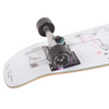Orchard Sageman Mini Cruiser Complete Skateboard 7.8 Shape (With Free Skate Tool)