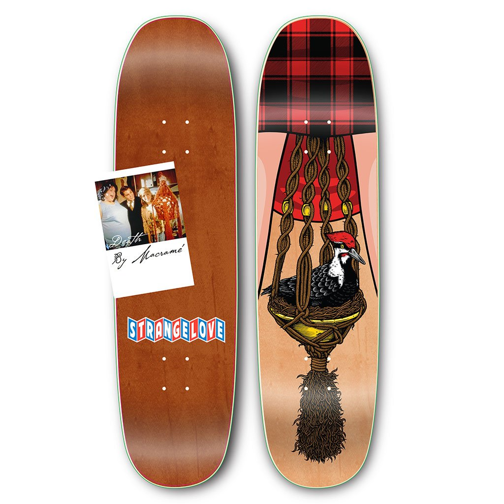 Strangelove Bird & Bush Deck 8.625