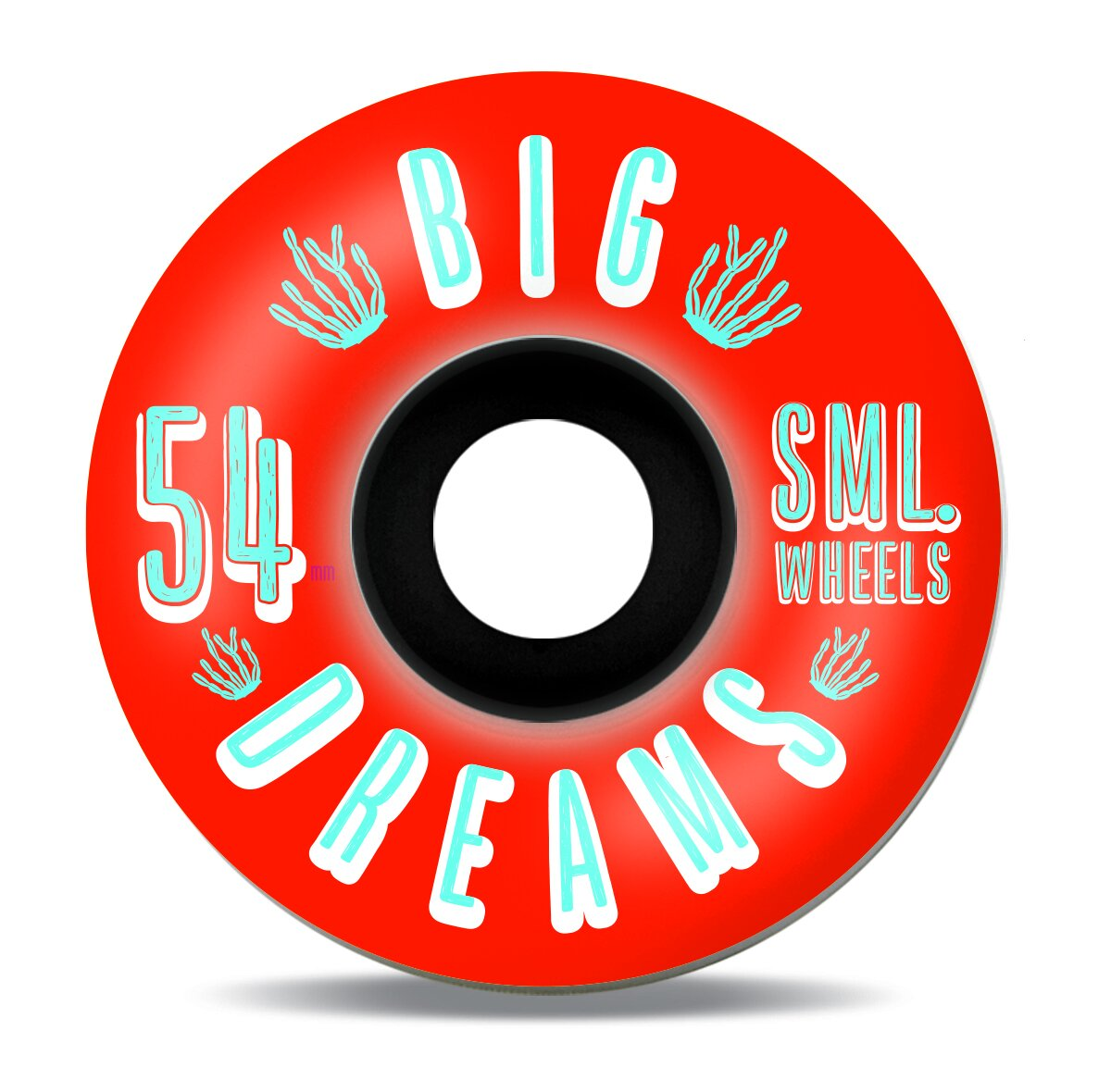 SML Wheels Succulent Cruiser V-Cut 92a Fire Water 54mm