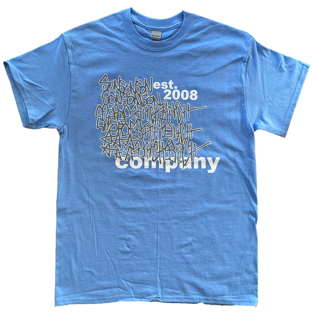 Son Of A Bitch Company EST 2008 Tee Blue