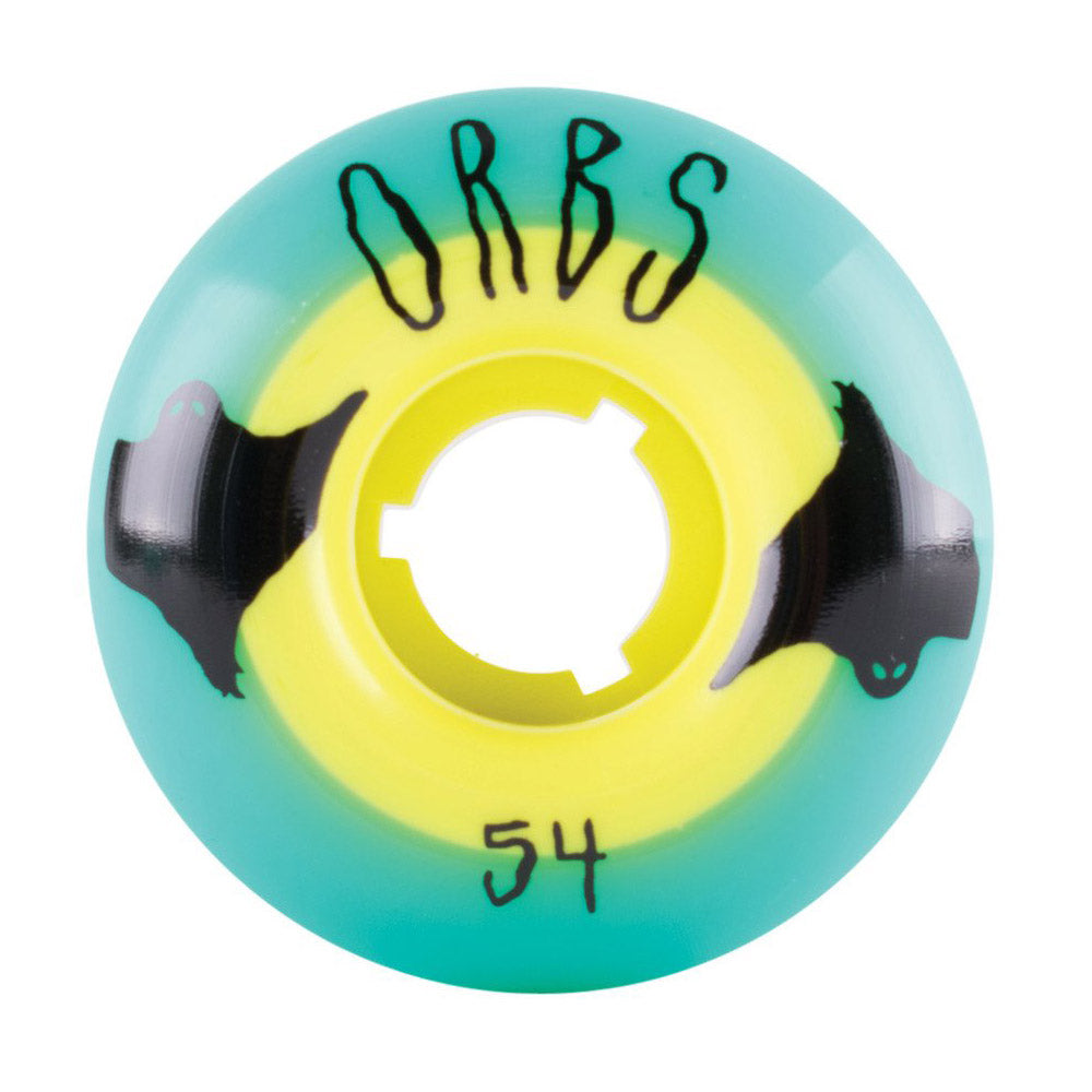 Welcome Wheels Orbs 54mm Teal/Yellow (Yellow Core)