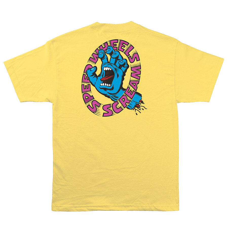 Santa Cruz Screaming Hand Scream Tee Banana