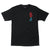 Santa Cruz Screaming Hand Scream Tee Black