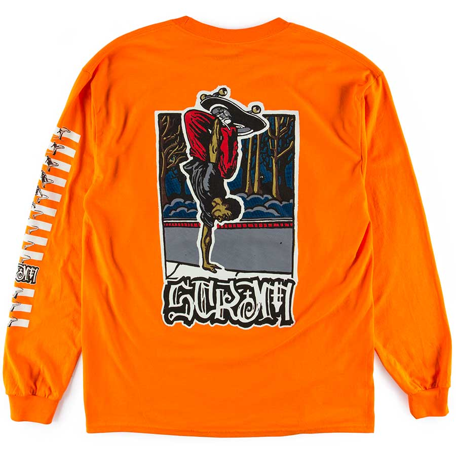 Scram Keenen Long Sleeve Tee Orange