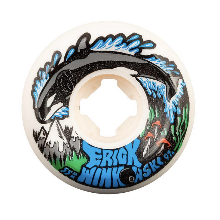 OJ Wheels Winkowski Killer Whale Hardline Elite 55mm 97A White