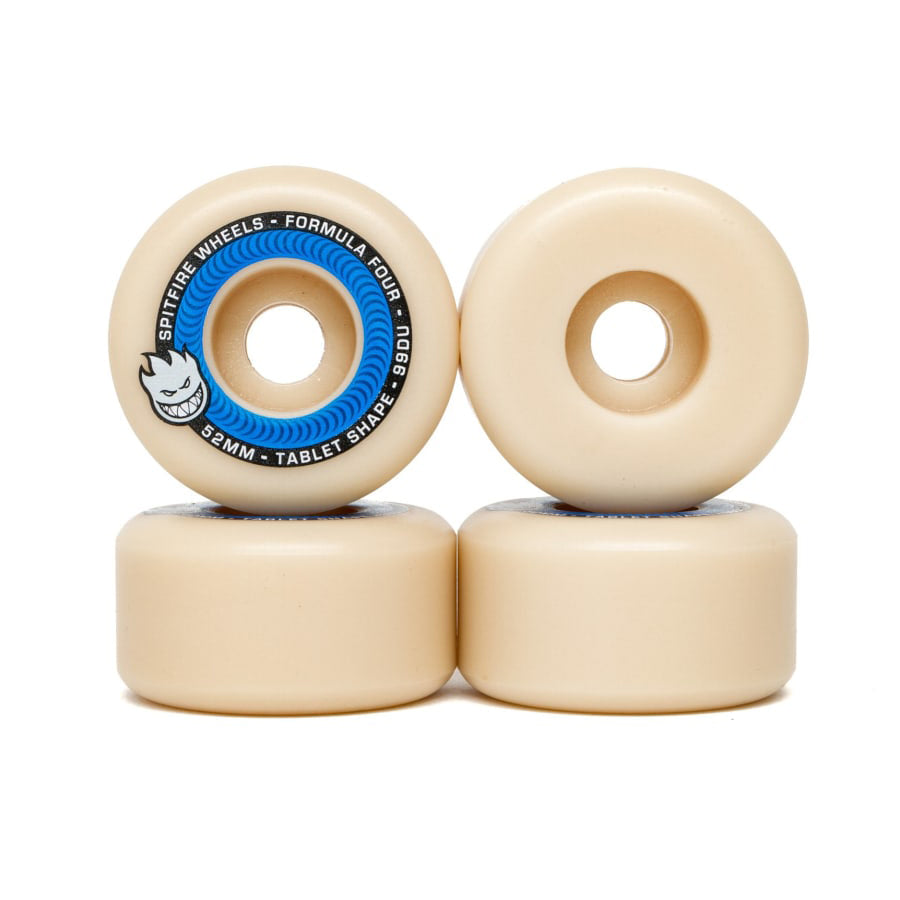 Spitfire Wheels Formula Four Tablet 52mm 99d
