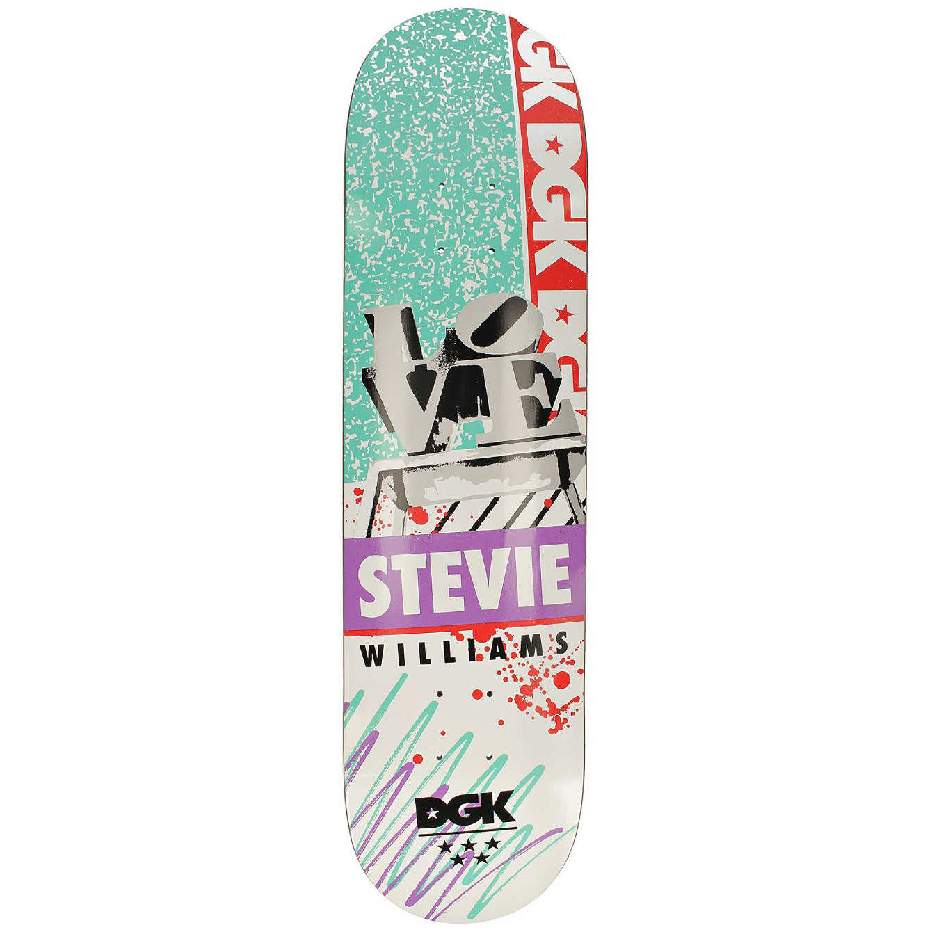 DGK Deck Stevie Love 8.0
