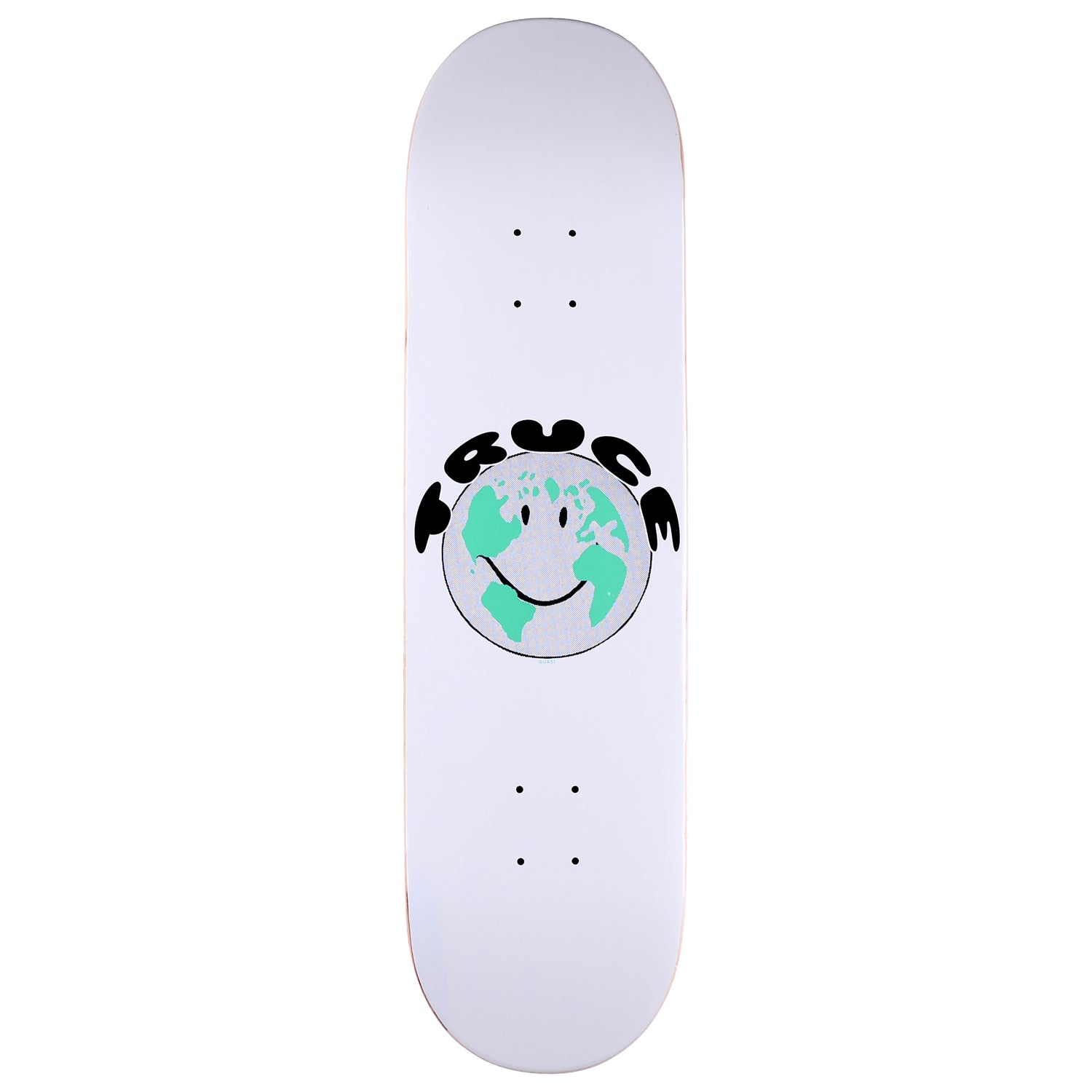 Quasi Team Truce Deck White 8.375""