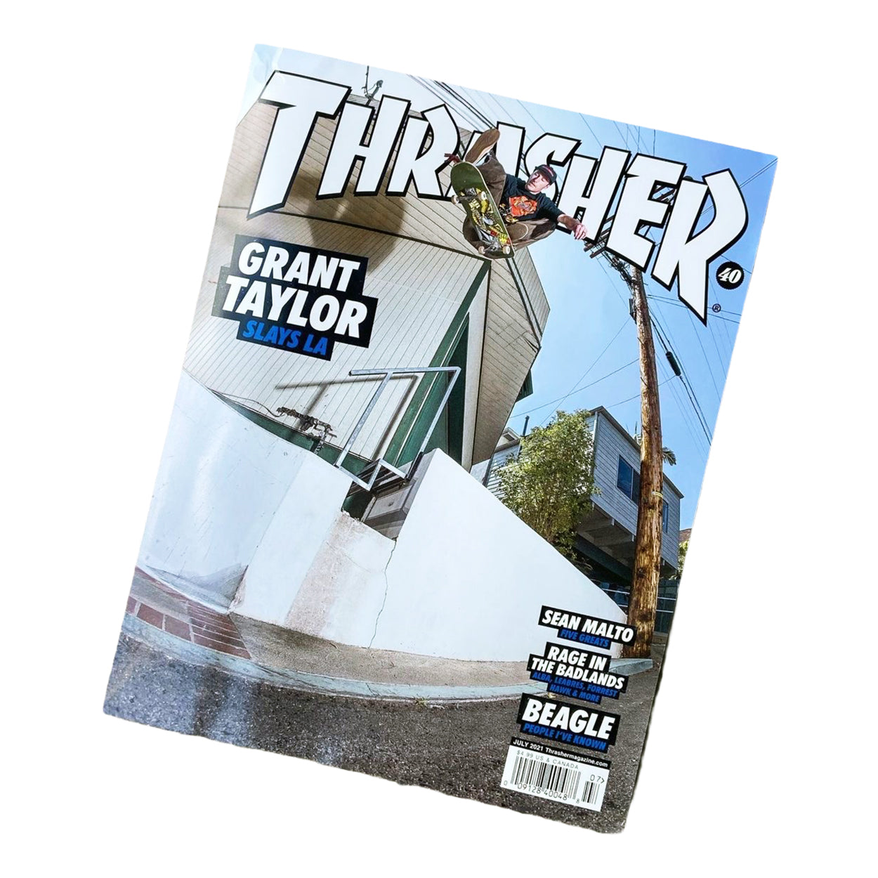 Thrasher Magazine July 2021 (Grant Taylor Slays LA)