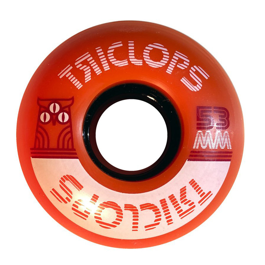 Triclops Crush Wheel 90A Orange Wheel 53mm